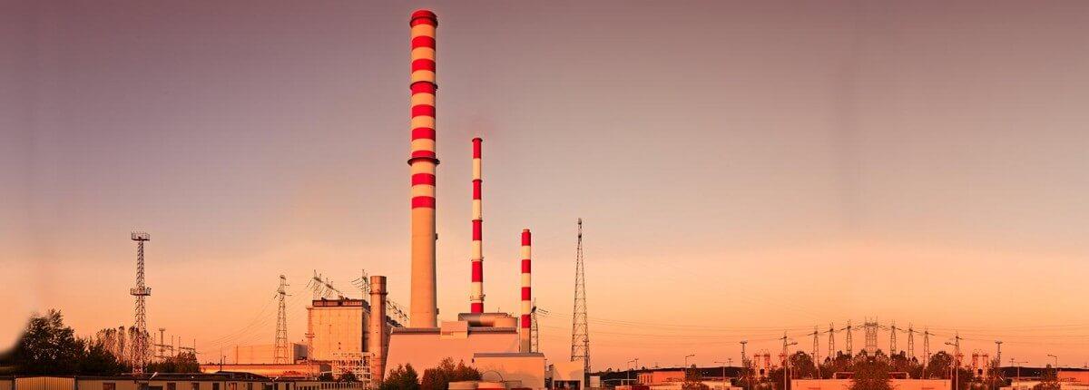 Industrial chimney - Elektrowni Dolna Odra Unit 5-8