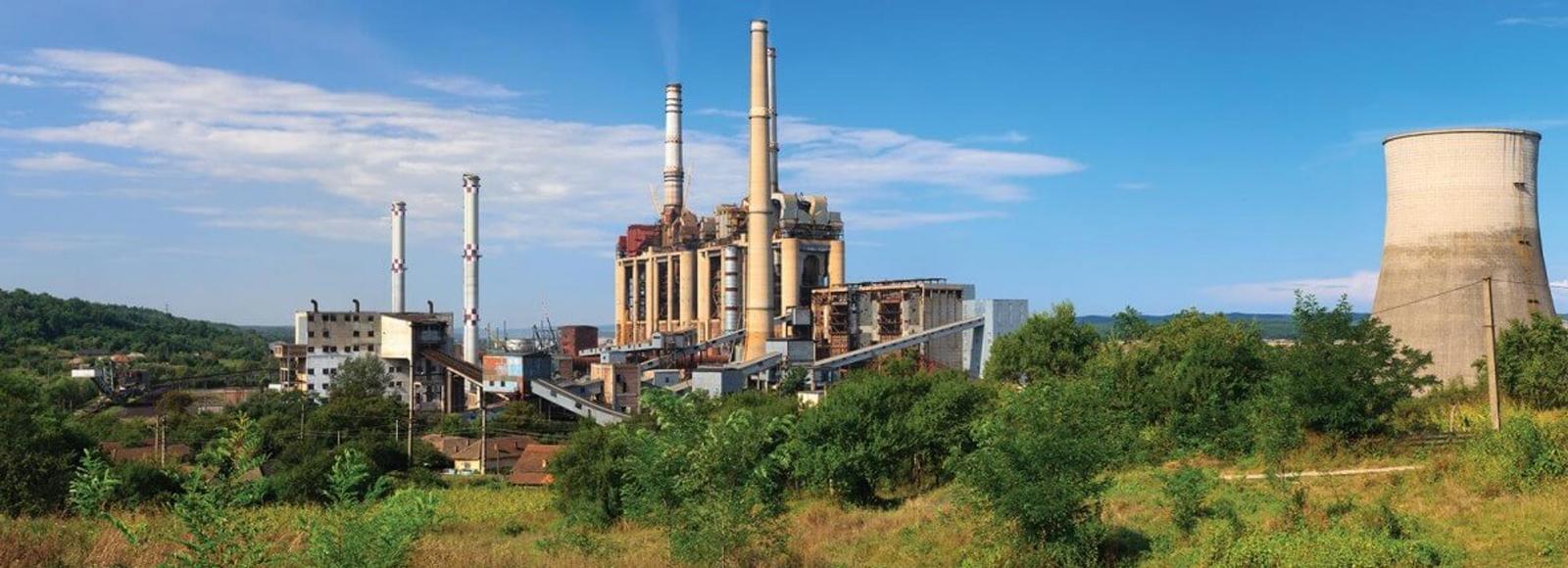 FGD Power Plant - Header