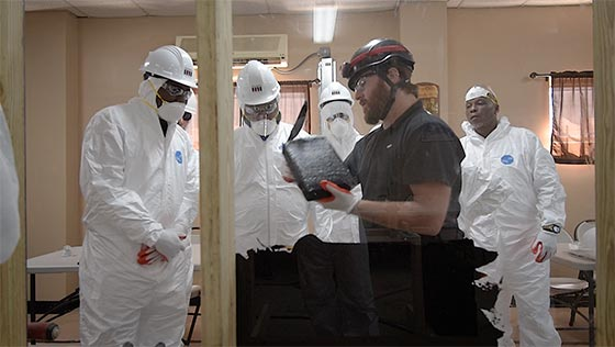 Instruction video   Pennguard installation training
