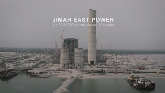 Project video   2 x 1000 MW Jimah East Power CFPP, Malaysia