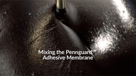 video Mixing The Pennguard Adhesive Membrane