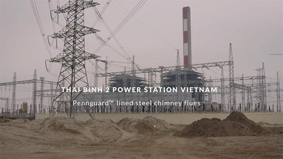 video Thai Binh 2 Power Station Vietnam
